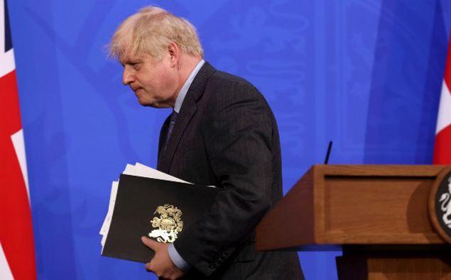 UK Prime Minister Boris Johnson. (Photo / AP)