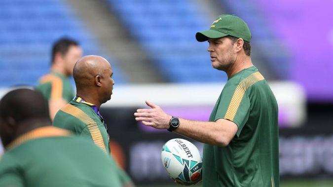 Springboks coach Rassie Erasmus. Photo / NZ Herald