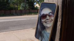 The scene where Bryan Kirby caused the deadly crash, killing Heidi Glover, pictured. (Photo / 9News Colorado)
