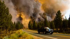 Oregon is suffering from the worst wildfire in the US. (Photo / CNN)