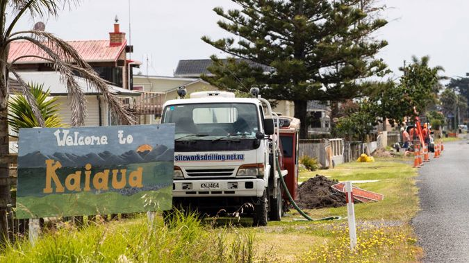 Three people in Kaiaua/Whakatīwai in Waikato have tested positive for Covid, including a student. (Photo / NZ Herald)