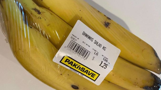Bananas are the most purchased item across the country's supermarkets. (Photo / Anna Leask)