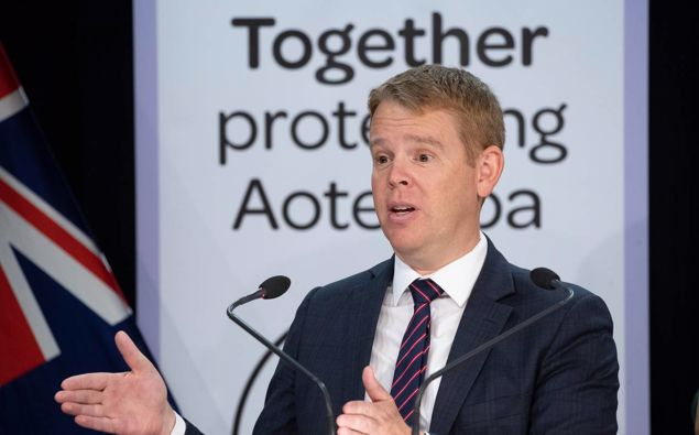 Covid-19 Response and Education Minister Chris Hipkins. (Photo / NZ Herald)