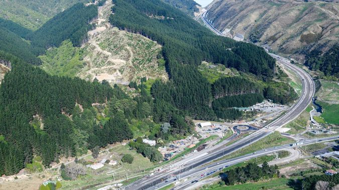 Transmission Gully was meant to open on September 27. (Photo / Supplied)