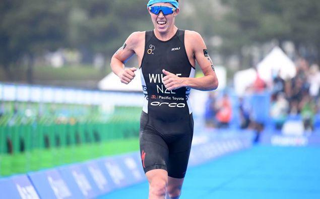Kiwi triathlete Hayden Wilde. Photo / Photosport