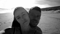 Anastasia Neve and David Clarke. (Photo / Facebook)