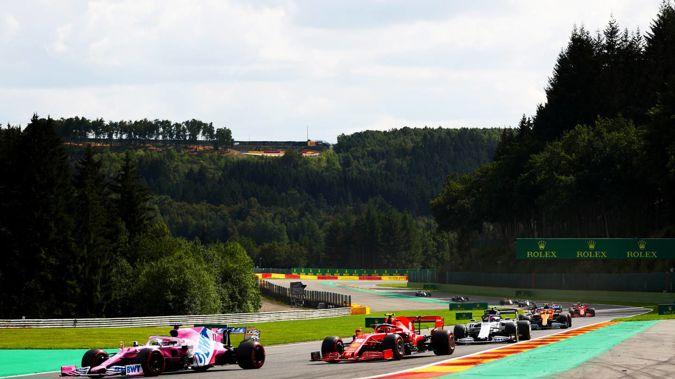 The F1 Grand Prix of Belgium at Circuit de Spa-Francorchamps. (Photo / Getty)