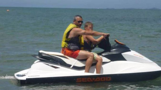 Police have charged Zoran Radovanovic and now his son for leaving his residence and travelling to Byron Bay, while positive with Covid-19. (Photo / Facebook)