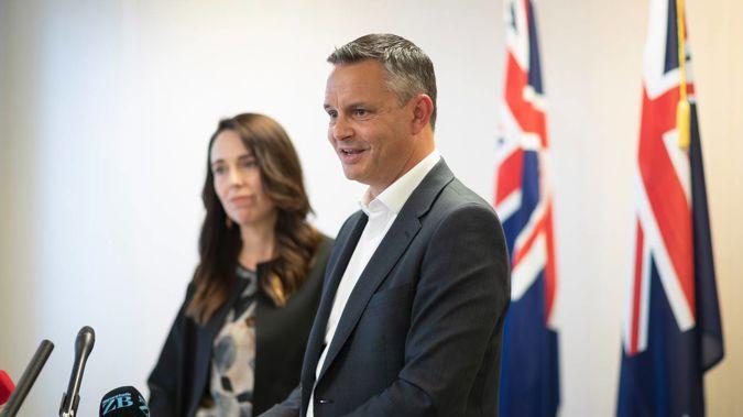 Prime Minister Jacinda Ardern and Climate Change Minister James Shaw. (Photo / Greg Bowker)