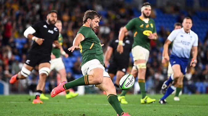 The Springboks overcame the All Blacks in a thrilling final match of the Rugby Championship. Photo /Photosport