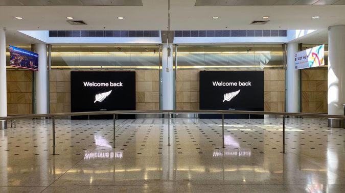 The burst transtasman bubble has been felt at Sydney Airport. Photo / Juliette Sivertsen
