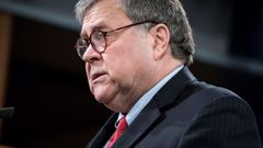 Former Attorney General William Barr details break with Trump on election fraud claims in new book. Photo / Getty Images