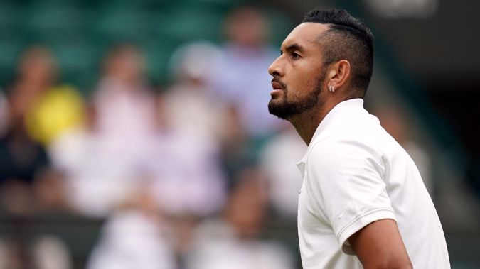 Nick Kyrgios has withdrawn from the Olympic Games. (Photo / Getty)