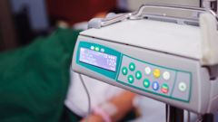 The feeding pumps are used to ensure ill people who cannot feed themselves get enough nutrition. (Photo / Getty Images)