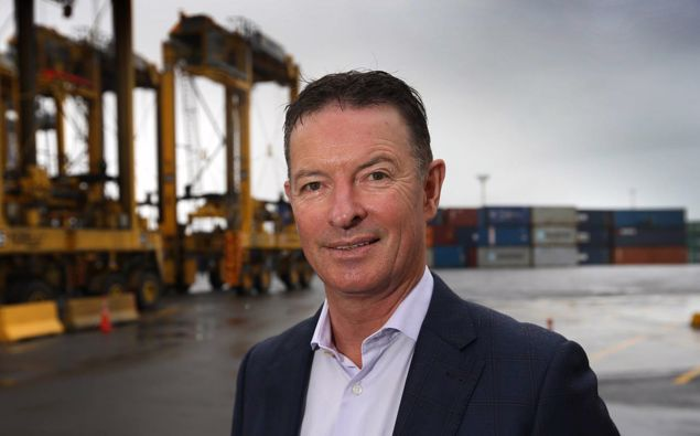 Ports of Auckland chief executive Tony Gibson is stepping down. (Photo / Herald)